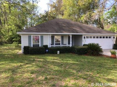 High Springs Single Family Home For Sale: 18722 NW 238th Street