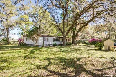 Dunnellon Single Family Home For Sale: 22667 SW 117th Street