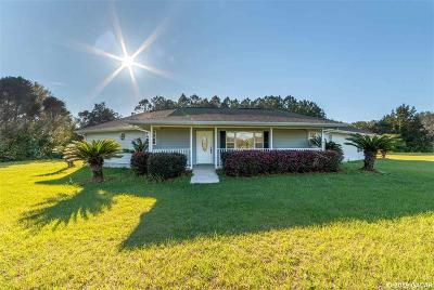 High Springs Single Family Home For Sale: 14452 NW 207 Terrace