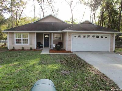 High Springs Single Family Home For Sale: 17729 NW 235th Way