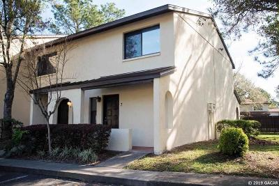 Gainesville Condo/Townhouse Pending: 2735 SW 35th Place #307