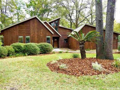 Gainesville Single Family Home For Sale: 1619 SW 77TH Terrace
