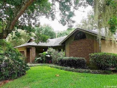 Gainesville Single Family Home For Sale: 9207 NW 15TH Place