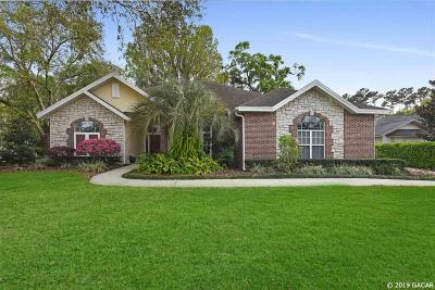 Gainesville Single Family Home For Sale: 3715 NW 39TH Place
