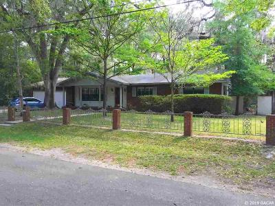 Gainesville Single Family Home For Sale: 515 SW 41 Street