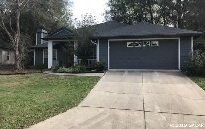 Gainesville Single Family Home For Sale: 6811 SW 80 Drive