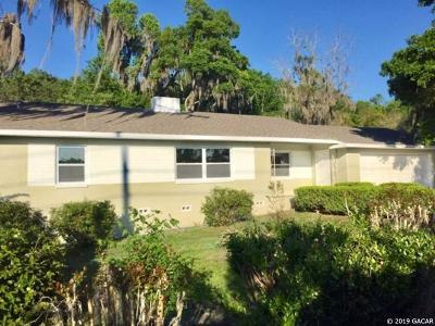 Micanopy Single Family Home For Sale: 17917 S HWY 441