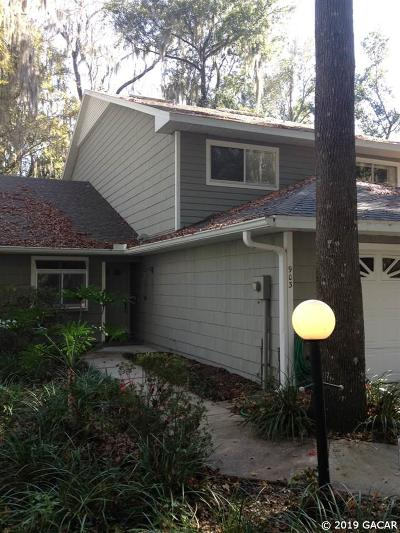Gainesville Condo/Townhouse Pending: 903 SW 50TH Way