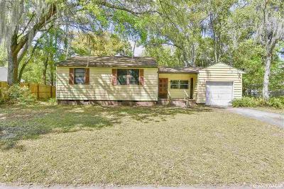 Gainesville Single Family Home For Sale: 1028 NE 7th Avenue
