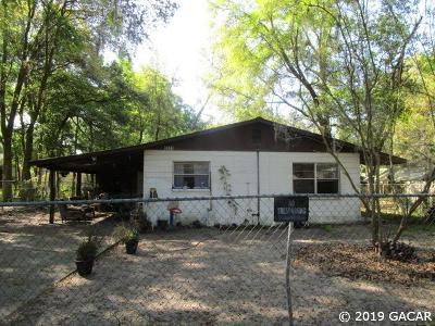 Gainesville Single Family Home For Sale: 2015 NW 35th Avenue