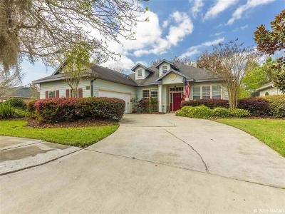 Gainesville Single Family Home For Sale: 7686 SW 86TH Way