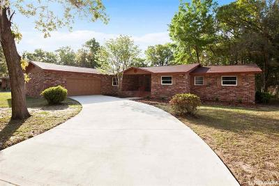 Gainesville Single Family Home For Sale: 3741 NW 17th Lane