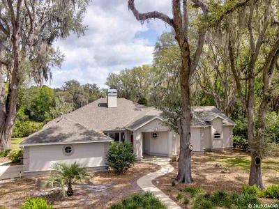 Newberry Single Family Home For Sale: 115 SW 134th Terrace