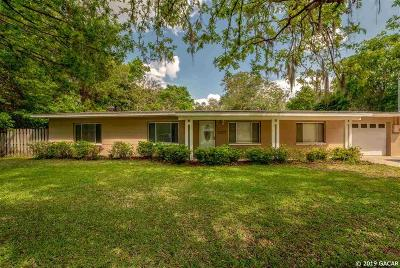 Gainesville Single Family Home For Sale: 2305 NW 48th Terrace