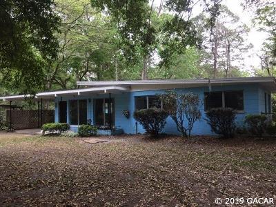 Gainesville Single Family Home For Sale: 1415 NE 7th Terrace