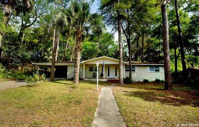 Gainesville Single Family Home For Sale: 3502 NW 10th Avenue