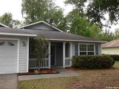 Alachua Rental For Rent: 11558 NW 74th Terrace