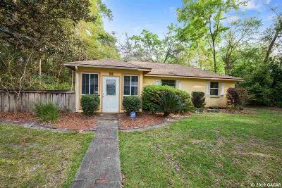 Gainesville Single Family Home For Sale: 814 NE 12th Avenue