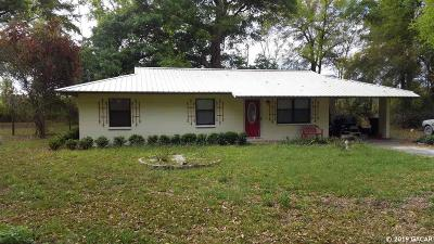 High Springs Single Family Home For Sale: 29307 NW 142 Avenue