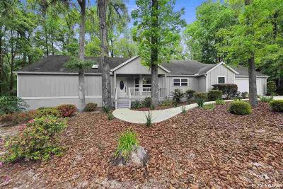Gainesville Single Family Home For Sale: 8512 SW 52 Place