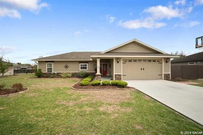Newberry Single Family Home For Sale: 909 NW 231st Way