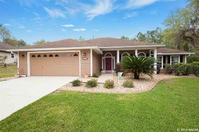 Alachua Single Family Home For Sale: 10613 NW 60th Terrace