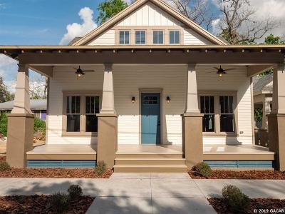 Gainesville Single Family Home For Sale: 625 NW 3rd Street