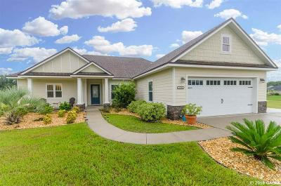 High Springs Single Family Home For Sale: 17572 NW 251st Drive