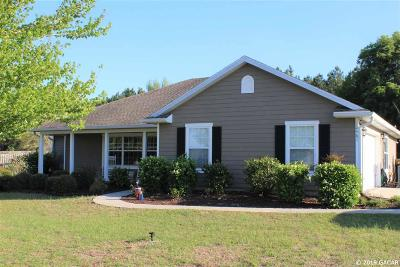 Gainesville Single Family Home For Sale: 10461 SW 104th Avenue