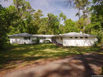 Gainesville Single Family Home For Sale: 4114 NW 15th Street