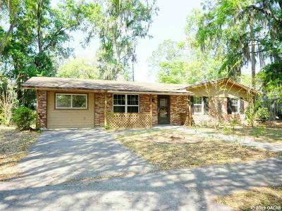 Gainesville Single Family Home For Sale: 3926 NW 21st Street