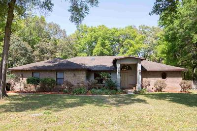 Gainesville Single Family Home For Sale: 10020 SW 36th Place