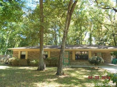 Newberry Single Family Home Pending: 445 SW 257 Terrace