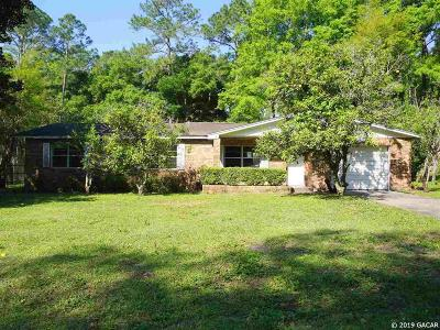 Gainesville FL Single Family Home For Sale: $157,000