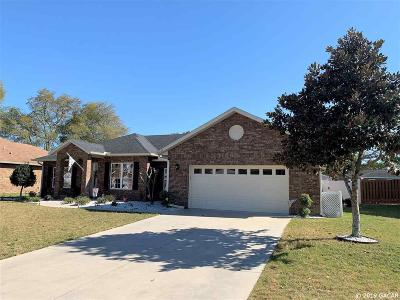 Newberry Single Family Home For Sale: 25149 SW 21ST Place