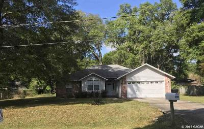 High Springs Single Family Home For Sale: 17688 NW 236TH Way