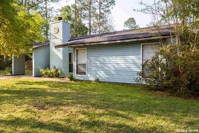 Gainesville Single Family Home For Sale: 2712 NW 62ND Avenue
