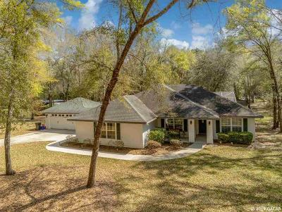 Gainesville Single Family Home For Sale: 9901 SW 89TH Street