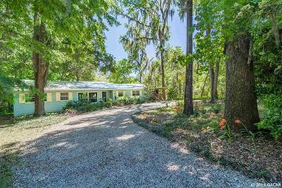 Gainesville Single Family Home For Sale: 4013 SW 18th Street