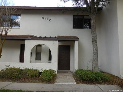 Gainesville Condo/Townhouse For Sale: 2635 SW 35th Place #802
