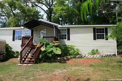 Alachua Single Family Home For Sale: 15134 NW 130th Drive