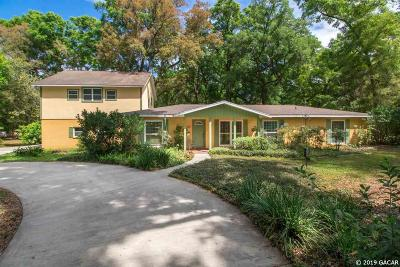 Gainesville Single Family Home For Sale: 2371 SW 79th Drive