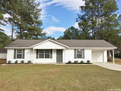 Lake City Single Family Home For Sale: 1969 SW Fallon Lane