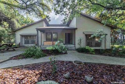 Alachua Single Family Home For Sale: 6823 NW 218th Street