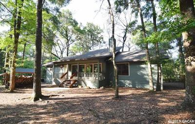 High Springs Single Family Home For Sale: 25227 NW 210 Lane