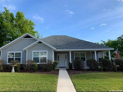 Alachua Single Family Home For Sale: 14970 NW 149th Place