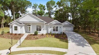 Alachua Single Family Home For Sale: 16884 NW 167th Street