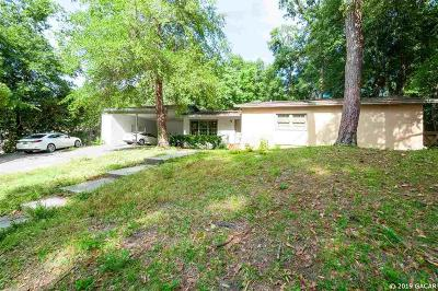 Gainesville Single Family Home For Sale: 15 NW 29TH Street