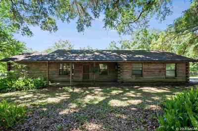 Micanopy Single Family Home For Sale: 10924 SW 10TH Terrace