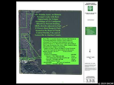 Gainesville Residential Lots & Land For Sale: 5902 SE HAWTHORNE Road